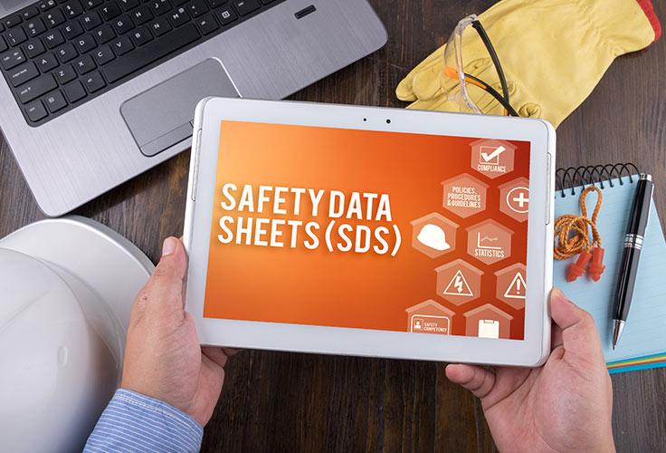 גיליון/גִּלְיוֹן בְּטִיחוּת [של חומר] –material safety data sheet (MSDS)